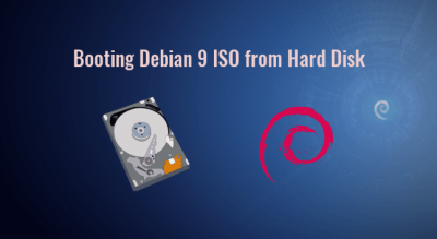 booting debian 9 iso from hard disk