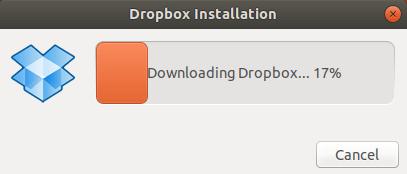 dropbox ubuntu 18.04 installation