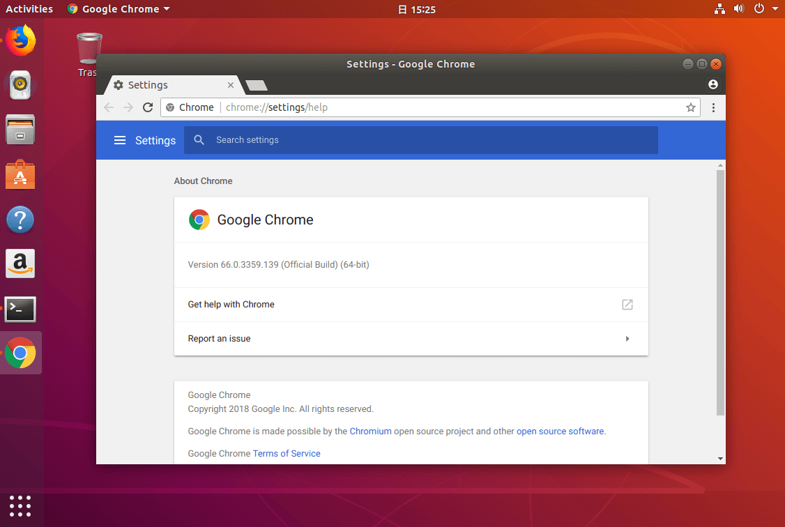 how to install google chrome in ubuntu using command line