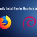 install firefox quantum debian stretch