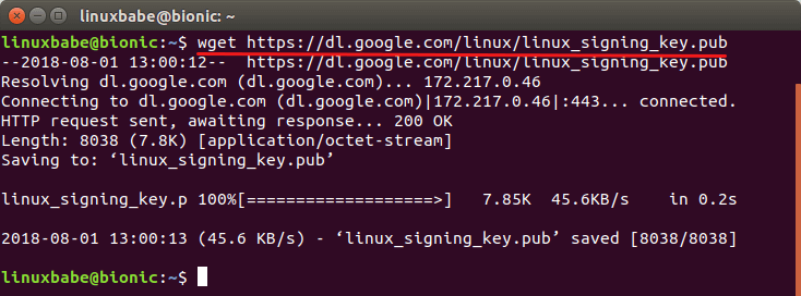 install google chrome ubuntu command line