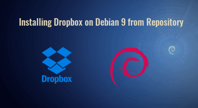 installing dropbox on debian 9 from repository