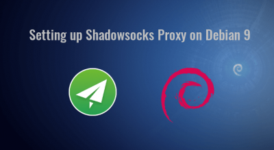 setting up shadowsocks proxy on Debian 9
