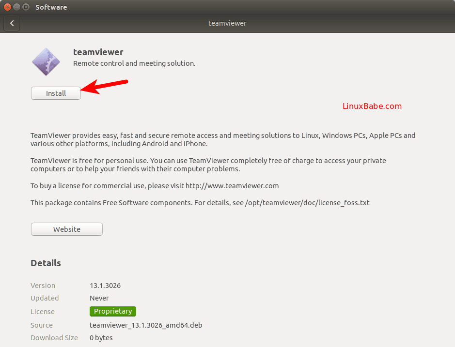 2 Ways to Install TeamViewer on Ubuntu 18 04 LTS Bionic Beaver