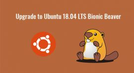upgrade to ubuntu 18.04 lts bionic beaver