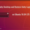 install unity desktop on ubuntu 18.04 LTS