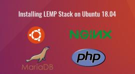 installing lemp stack on ubuntu 18.04