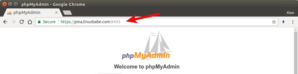 phpmyadmin nginx