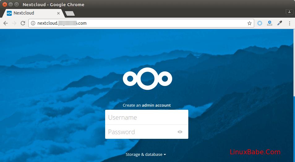 ubuntu 18.04 nextcloud nginx