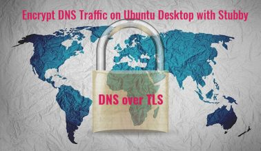 encrypt dns traffic on ubuntu desktop with stubby