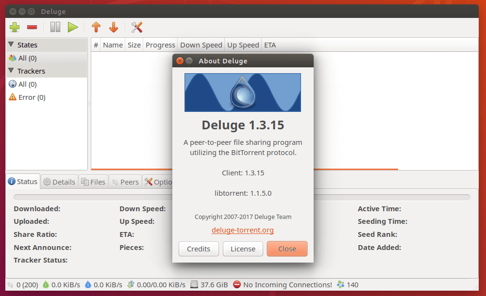 How to Install Deluge BitTorrent Client on Ubuntu 18 04