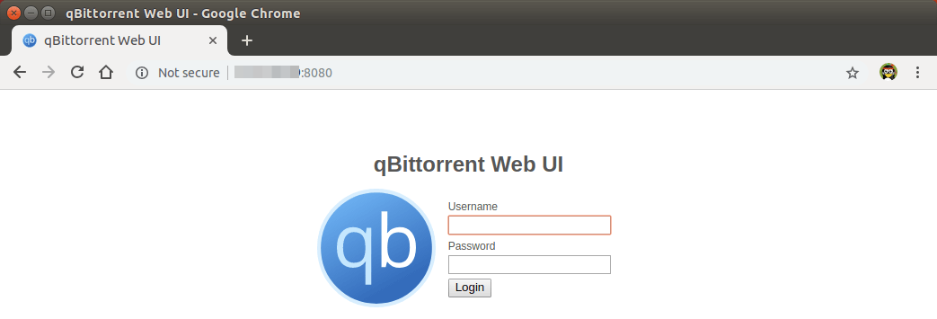 install qbittorrent ubuntu server