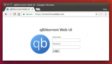 qbittorrent remote webui
