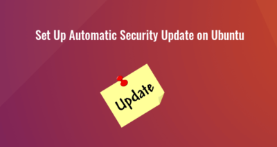 Set Up Automatic Security Update on ubuntu