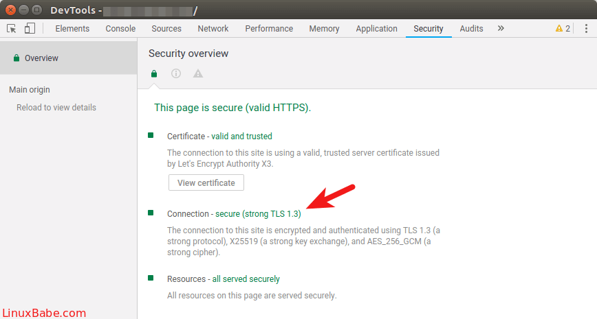 enable tls 1.3 nginx
