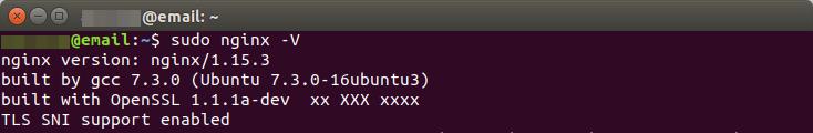 nginx tls 1.3 ubuntu