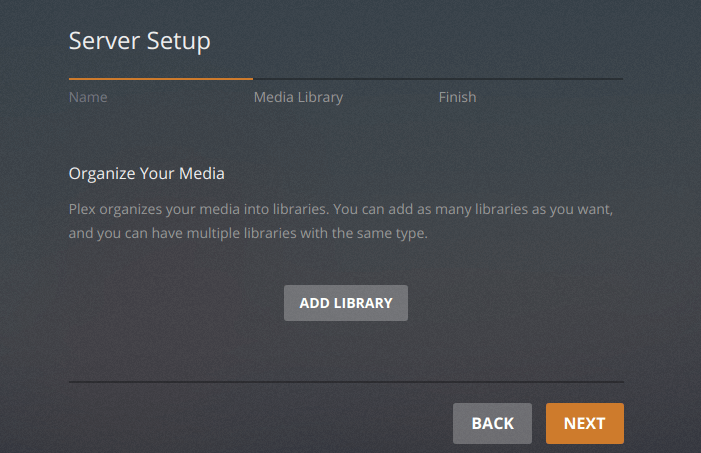 how to add movies to plex media server ubuntu