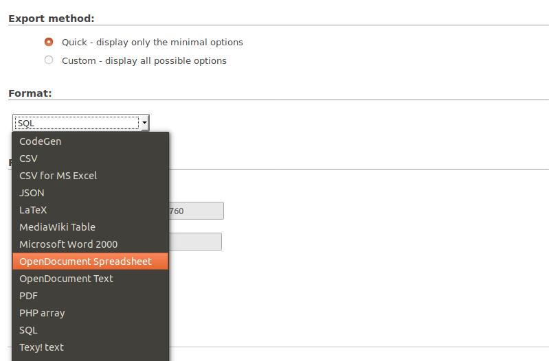 mailtrain export list as csv