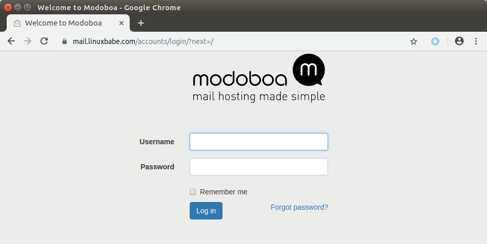 modoboa mail server ubuntu 18.04