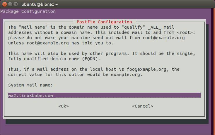 postfix relay domains