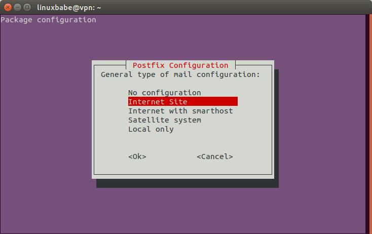 postfix relayhost configuration