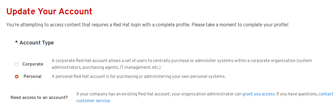 red hat subscription manager