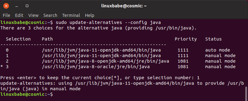 How To Install Oracle Java 8 and OpenJDK 11 on Ubuntu 18 04