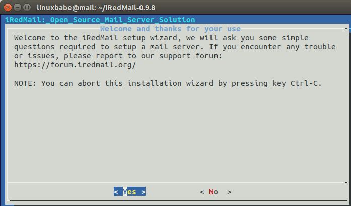 ubuntu 18.04 iredmail