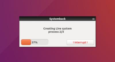 install systemback on ubuntu 18.04