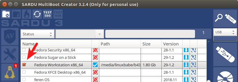 SARDU MultiBoot Creator linux