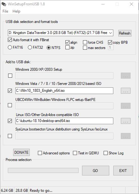 WinSetupFromUSB multiboot