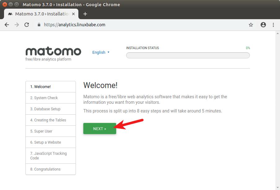 matomo install ubuntu 18.04