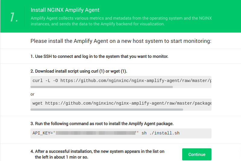 LEMP Stack Performance Monitoring with Nginx Amplify on