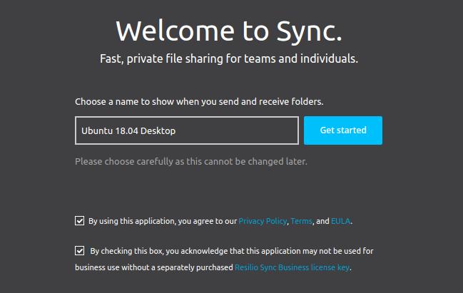 resilio sync reverse proxy