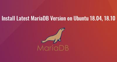 mariadb 10.3 ubuntu