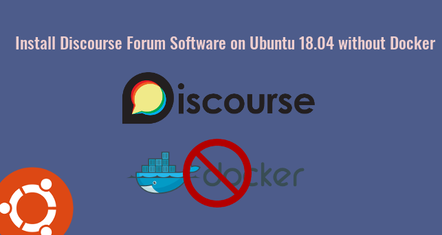 discourse without docker ubuntu