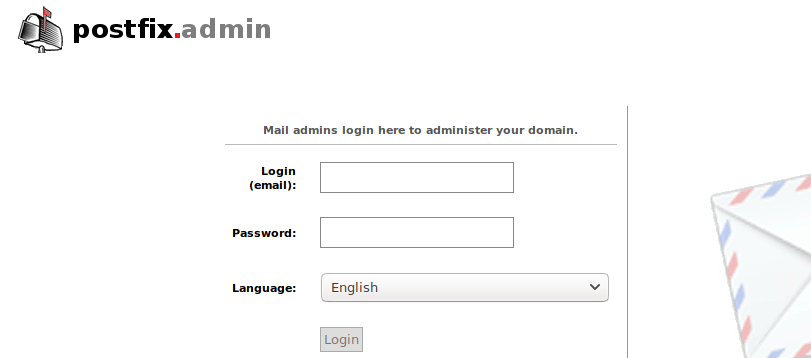 postfixadmin virtual mailbox domains