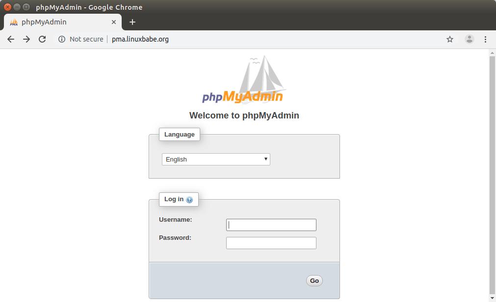 how to install phpmyadmin in lubuntu