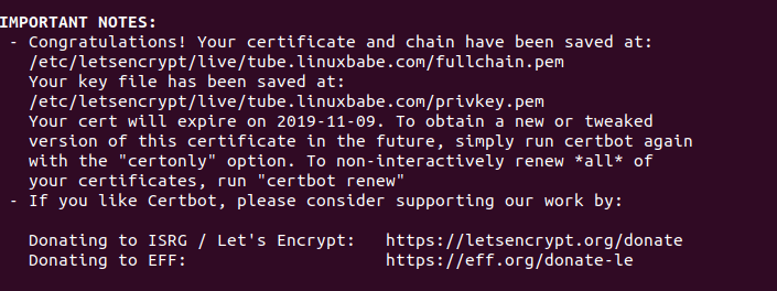 install youphptube on Debian 10 buster