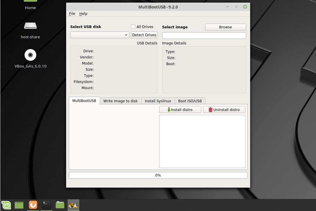 linux mint 19 multibootusb