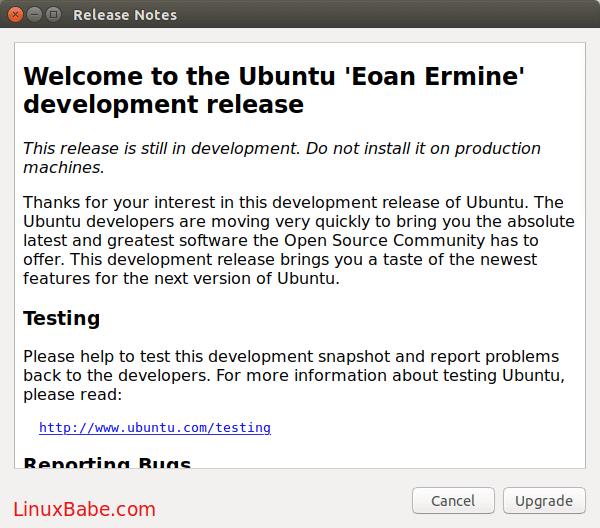 Ubuntu Eoan Ermine