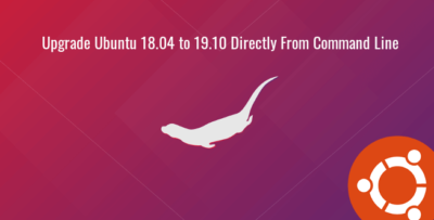 upgrade ubuntu 18.04 to 19.10 from command line