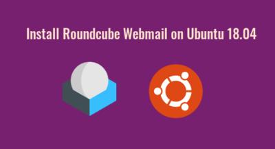 install roundcube webmail ubuntu 18.04