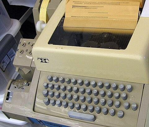 Linux terminal ASR33