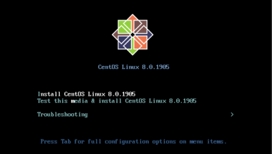 install-centos-8-on-vps-in VNC