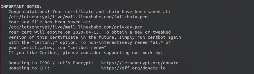 roundcube webmail https letsencrypt