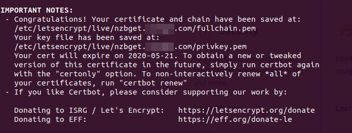 mulai otomatis nzbget ubuntu