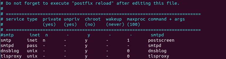 postfix enable postscreen
