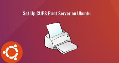 Set Up CUPS Print Server on Ubuntu