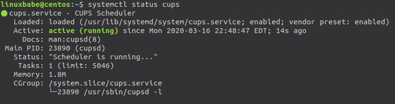 cups-printing-system-centos8-rhel8